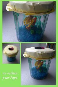 Pour la fête des pères, nous avons réaliser un joli DIY : un aquarium dans un bocal de confiture. Tout simple, les enfants vont adorer (et les papas aussi)!
