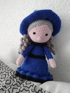amigurumi sorcière Nina the Witch au crochet
