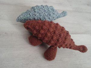 ankylosaure crochet