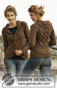 veste en tricot irlandais