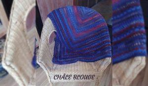 Read more about the article # crochet : châle blouge