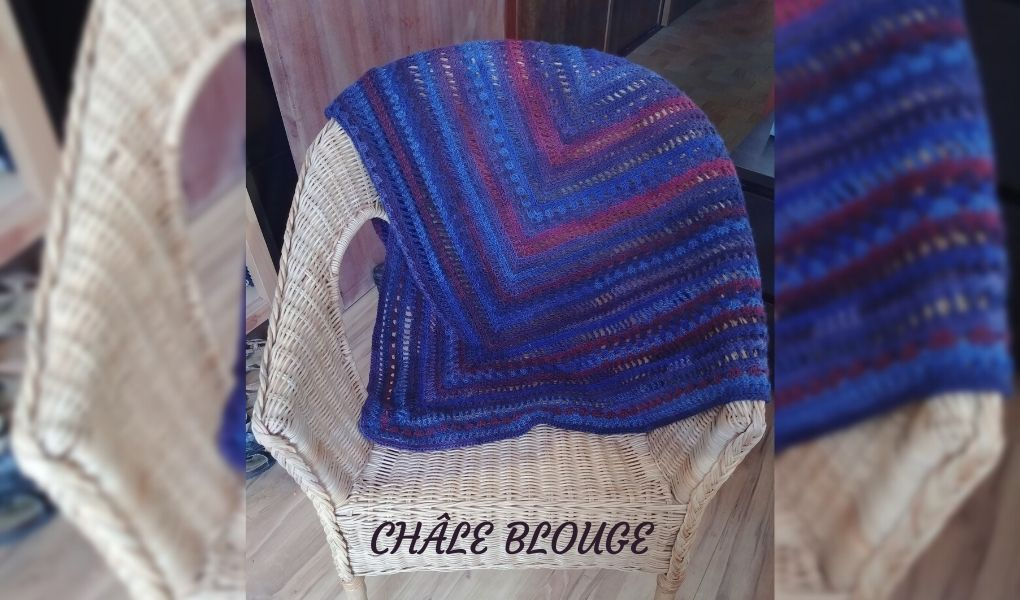 You are currently viewing # crochet : châle blouge