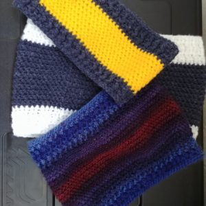 Tutoriel ~ Snood Herringbone
