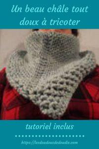 # tricot : un châle tout doux