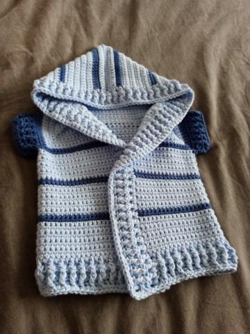 veste bébé crochet