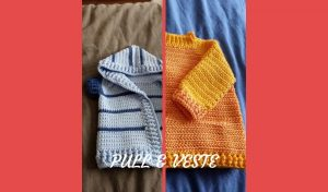 # crochet : pull et veste bébé