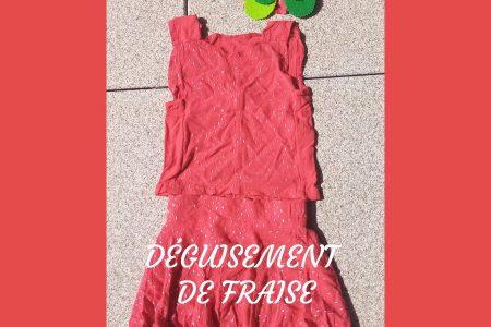 image une déguisement fraise