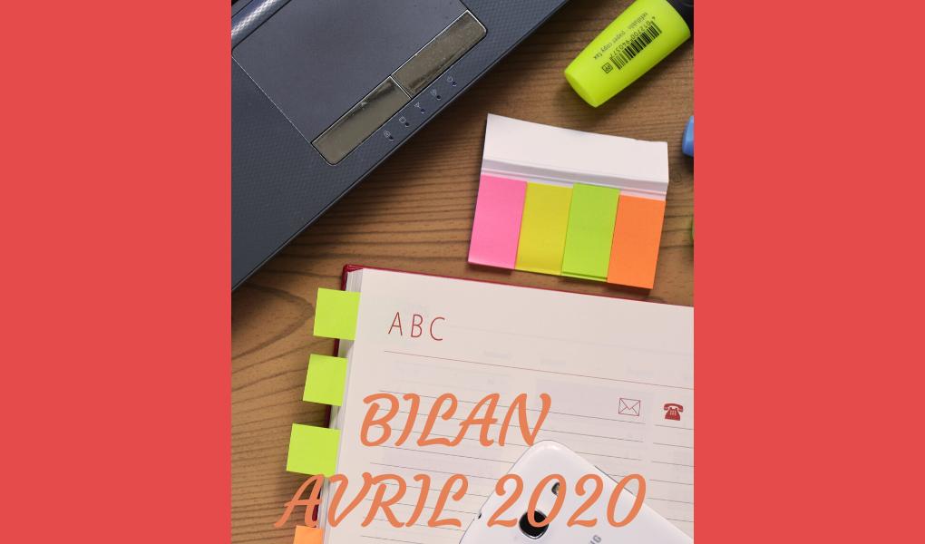 Bilan avril 2020