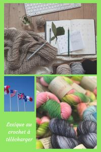 épingle pinterest lexique crochet