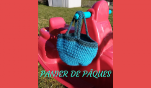 # Crochet : panier de Pâques