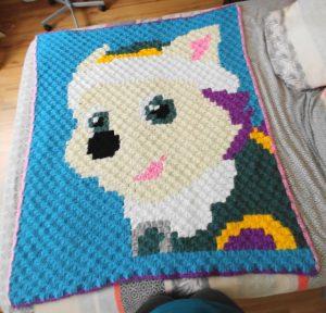 crochet C2C everest