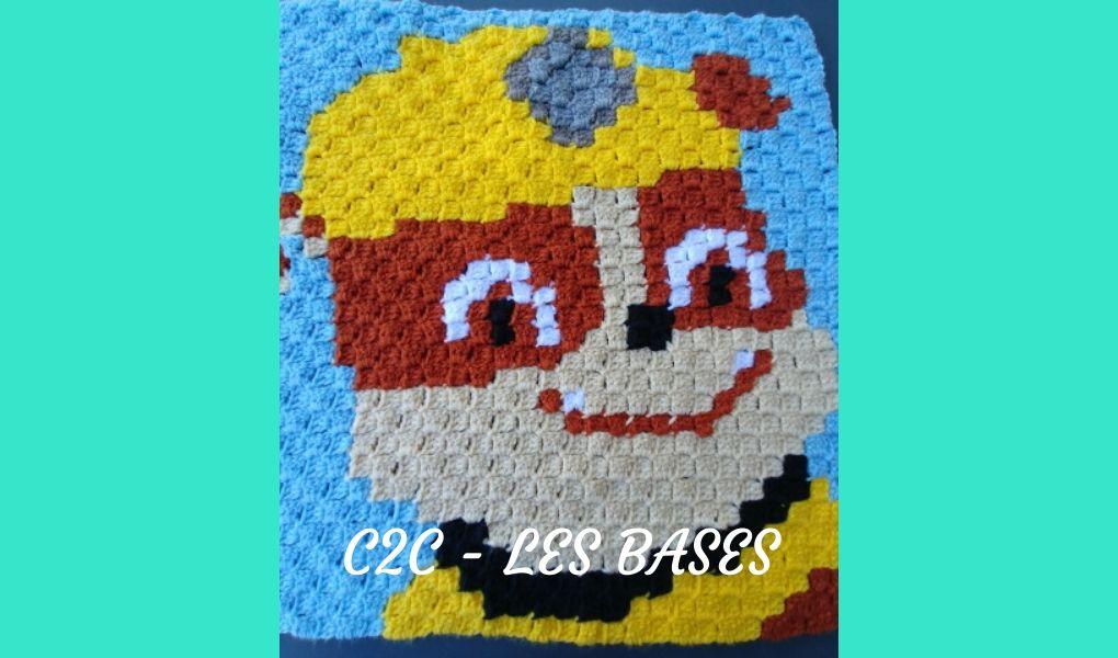 # Crochet : C2C ~ les bases