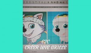 # Crochet : créer une grille