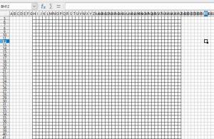C2C grille - créer la grille