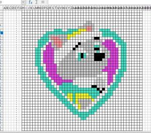 C2C grille - ajuster les couleurs au besoin
