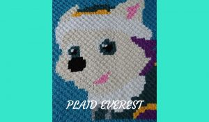# Crochet : plaid Everest