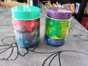 DIY nébuleuse dans un bocal