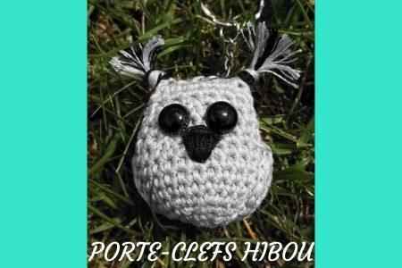Découvrez un tutoriel de crochet simple et rapide à réaliser : un porte-clefs hibou. Il est idéal pour les fonds de laine et personnalisable à l'infini !