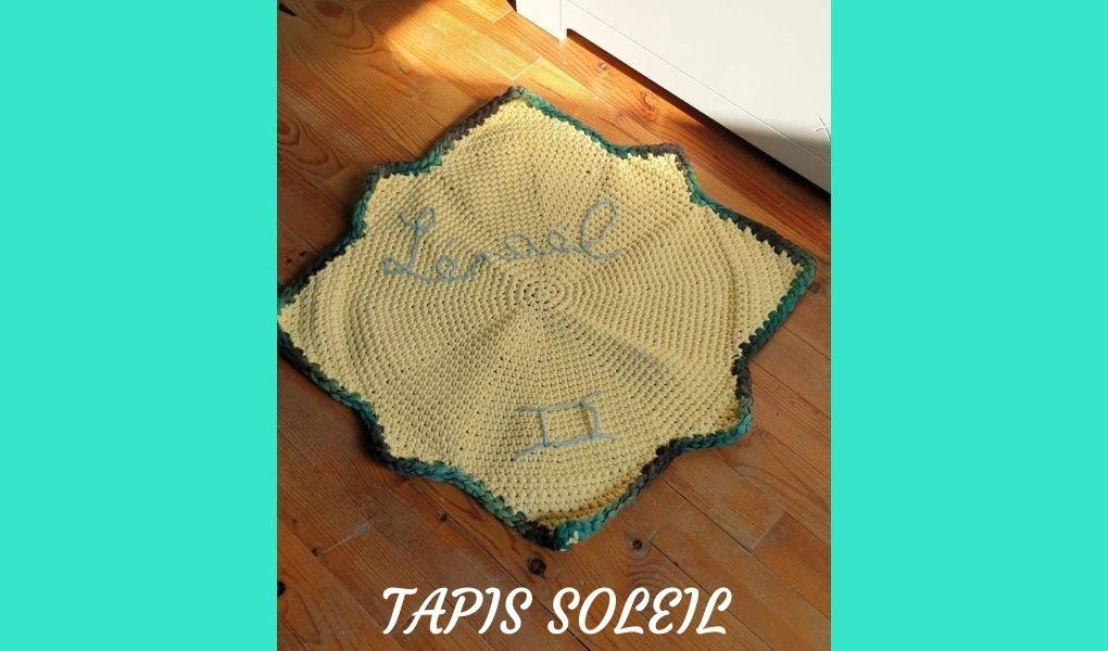 # Crochet : Tapis soleil