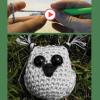 tutoriel vidéo du porte-clefs hibou
