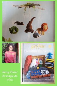 Aujourd'hui, je vous présente un livre de tricot dédié au monde de Harry Potter. Retrouvez Edwige, les pulls des Mme Weasley et bien plus.