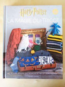 livre Harry Potter - magie du tricot