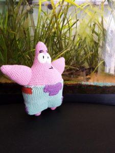 amigurumi Patrick étoile de mer