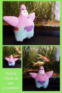 Grâce à ce tutoriel, vous pourrez crocheter Patrick l'étoile de mer. Créée pour un anniversaire, cette peluche est simple à crocheter.