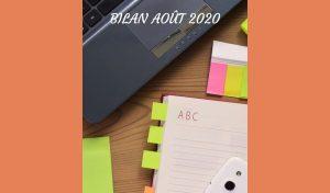 Bilan Août 2020