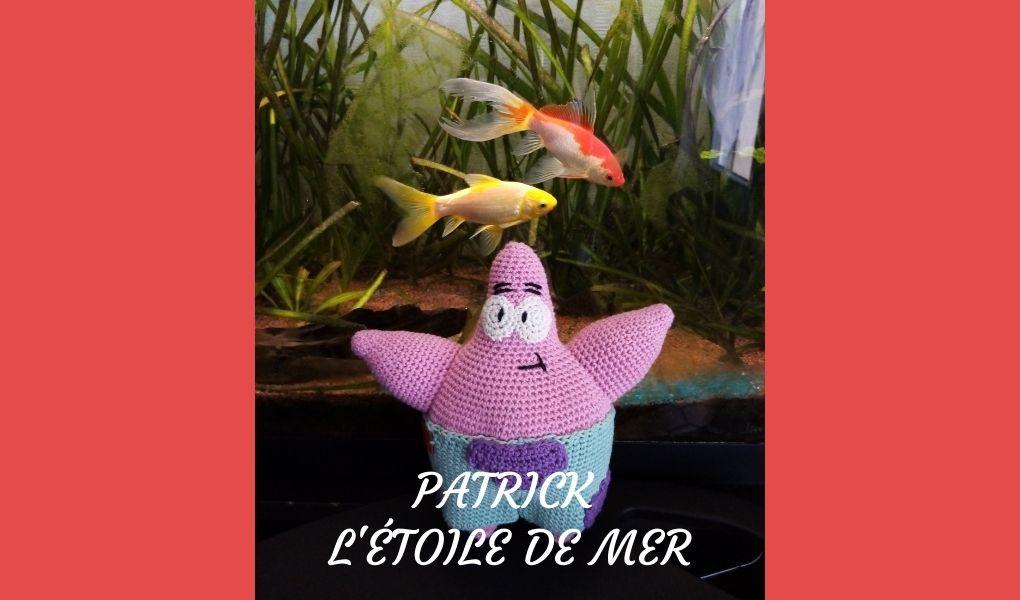 # Amigurumi : Patrick l'étoile de mer