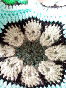 African Flower octogonale au crochet
