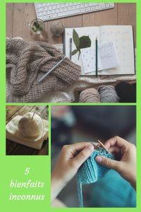 Découvrez ici 5 bienfaits insoupçonnés du crochet et du tricot. En plus de vous sentir bien, vous serez aussi fière de vous.