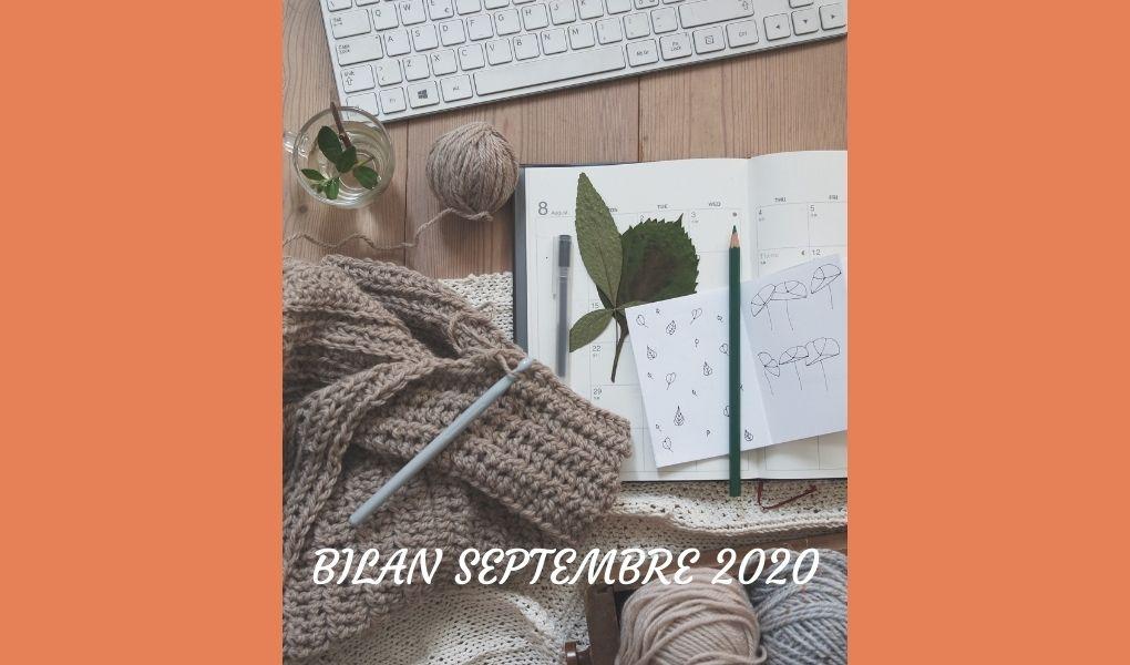 Bilan septembre 2020
