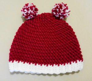 crochet bonnet 1-3 ans