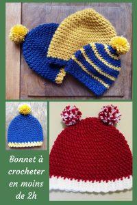 Aujourd'hui, je vous donne un tutoriel facile et rapide au crochet : le bonnet herringbone. Vos enfants vont l'adorer et les plus grands aussi.