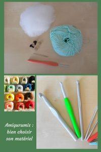 Découvre dans cet article quel est le matériel à choisir pour crocheter des amigurumis. Crochet, fil et mercerie, tu sauras tout.
