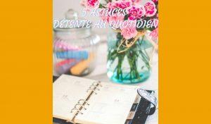 5 astuces détente au quotidien