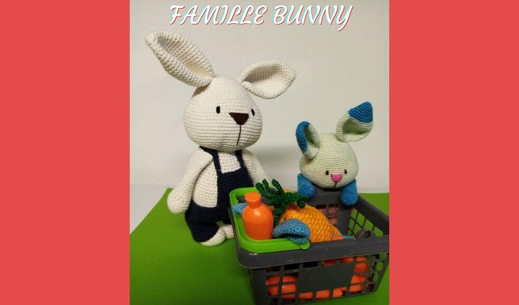 # Amigurumis : Famille Bunny