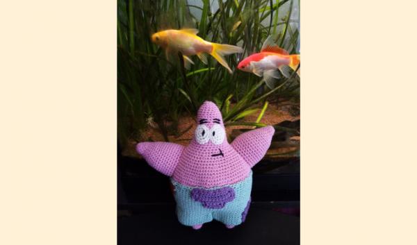 Patrick l'Etoile de Mer au crochet