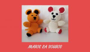 Découvre le tutoriel de Marie la Souris, un amigurumi que j'ai voulu très simple à crocheter. Il est idéal pour les débutants.