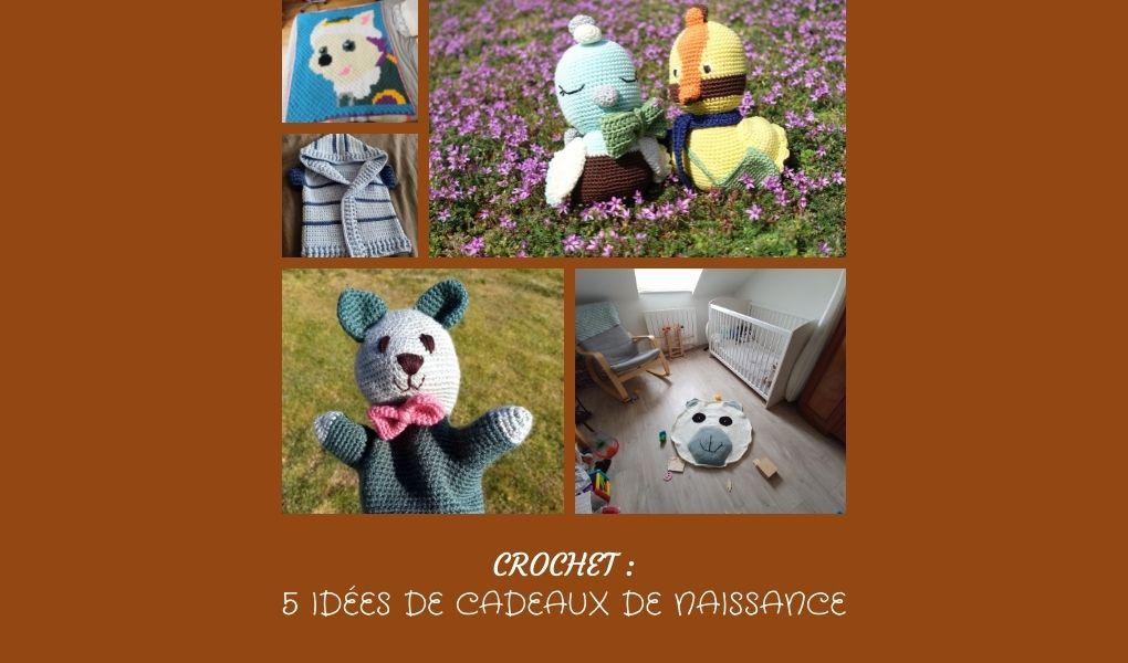 You are currently viewing # Crochet : 5 idées de cadeaux de naissance