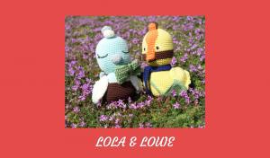 Viens découvrir 2oiseaux au crochet à croquer: Lola et Louie. D'origine australienne, il risque de te donner faim.