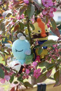Lola et Louie 2 oiseaux au crochet