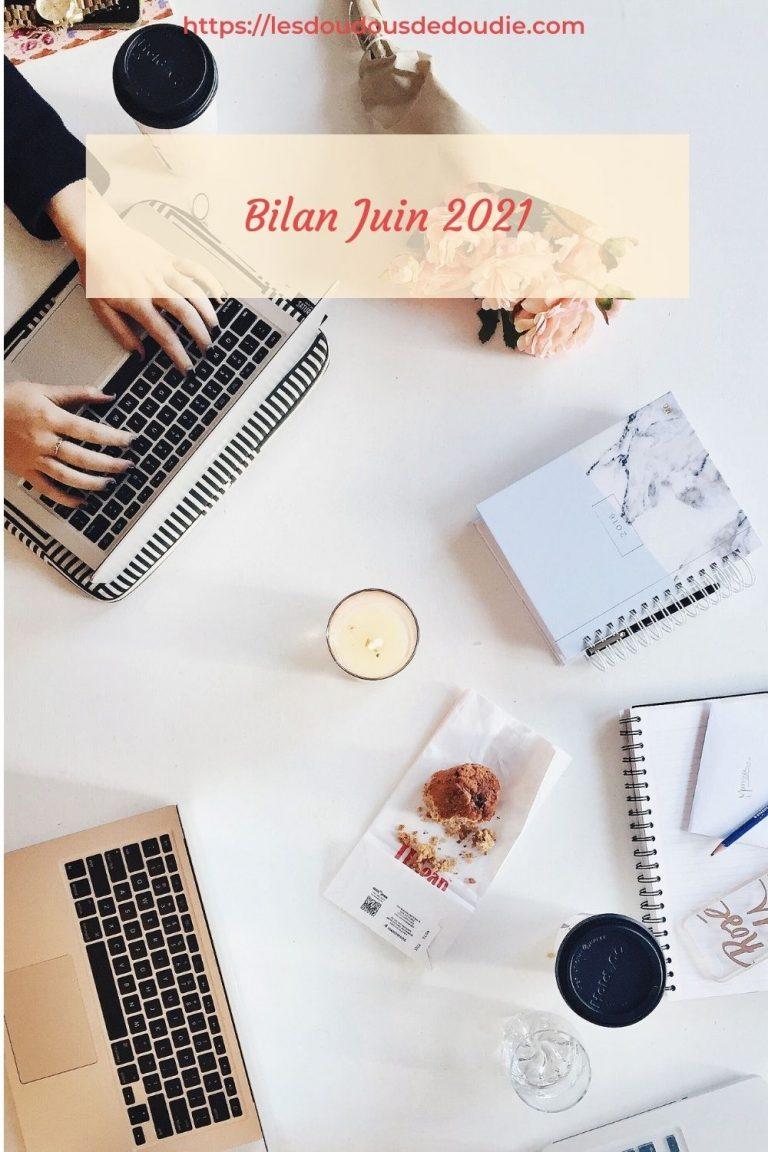 Pour ce bilan du mois de juin 2021, les résultats sont assez mitigés. Il y a eu beaucoup de questions et réflexions, mais aussi des réussites.