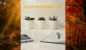Read more about the article Bilan Septembre 2021